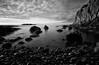 (Ian McClure) Tags: longexposure mono rocks sigma 1020 arran ayrshire gx10 dunure f13 84s ayrshirecoast