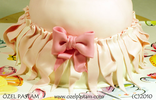 Pembe Elbise Pasta / Pink Dress Cake