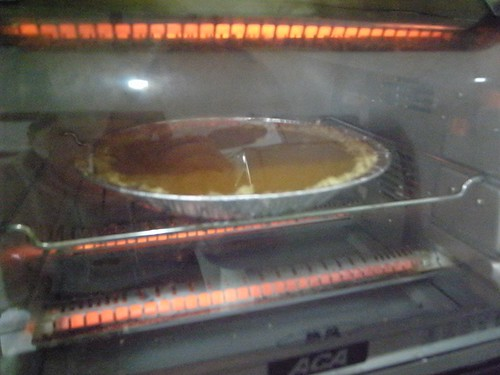 Baking crack pie