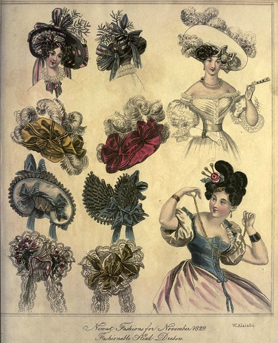 017-The World of fashion and continental feuilletons 1829