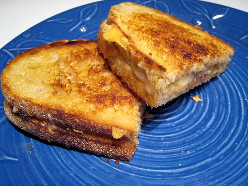 Basic Grilled Cheese, just the fact's ma'am