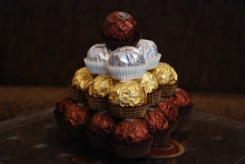 piramida de ciocolata