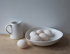 white light. Explore F.P. (penwren) Tags: light stilllife white kitchen canon ceramic march naturallight bowl calm fresh clean explore simplicity eggs jug pitcher pure fragile fp f11 glazed eggshell duckeggs 24105mm penwren canoneos5dmarkll