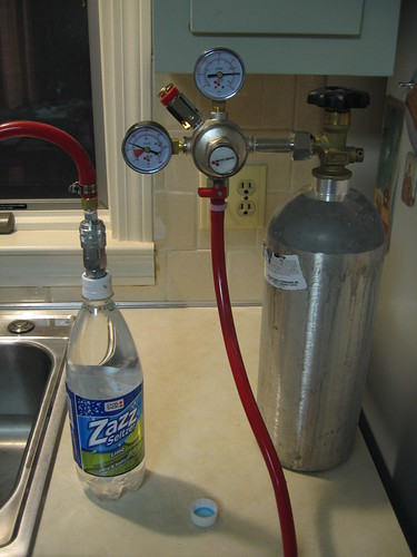 home-made seltzer
