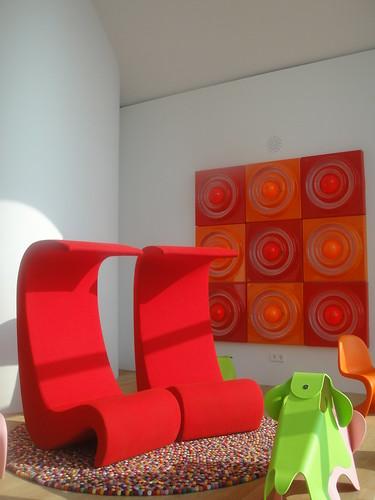 Amoeba Highback Vitra Chair Furniture Verner Panton