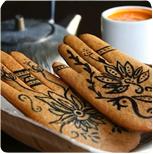 Mehndi-cookies
