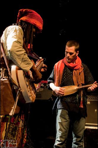 Tony Allen + Nuru Kane  @ Grenier à Son - 13/03/10