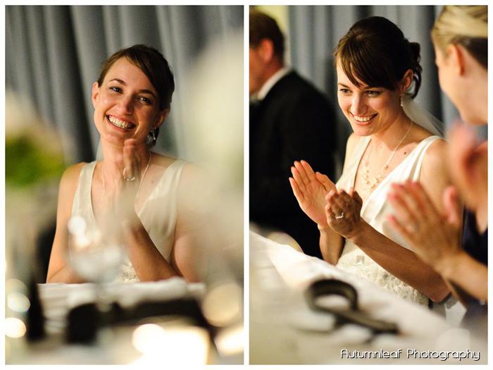Frances & Bradley's Wedding - Bride at Reception