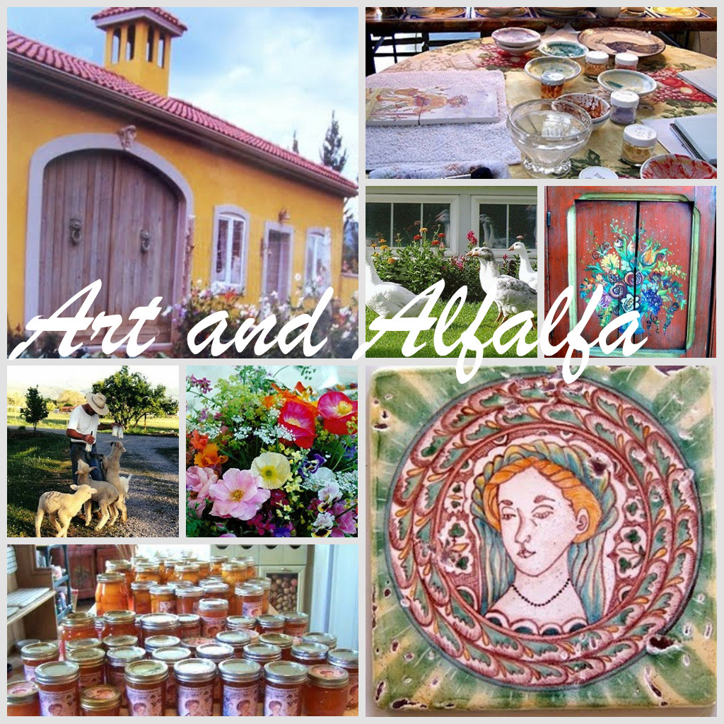 "blog feature ""Art and Alfalfa"""