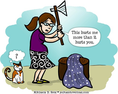 Sewing Cartoon: Fabric Execution