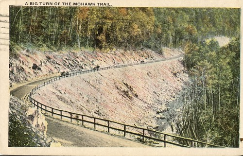Big Turn Mohawk trail