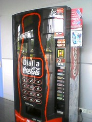 Coke vending machine