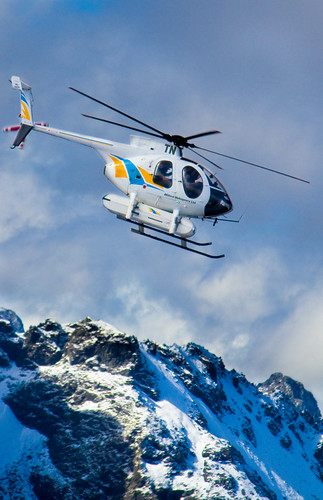 Helo over Mountain
