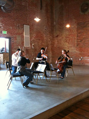 Cheza String Quartet auditions at the Armory