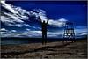 Crux (andzer) Tags: blue sea sky people cloud man bay jump nikon watch scout andreas explore handsup crux 2010 d300 zervas andzer wwwandzergr