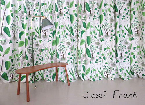 Josef Frank textiles and furniture