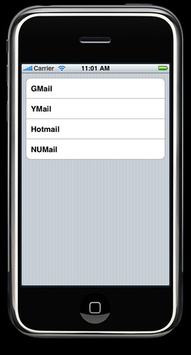 UITableView Grouped