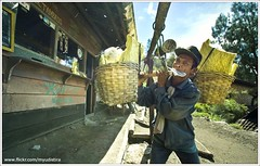 Heavy Paper (myudistira) Tags: bali lake work photographer labor acid traditional culture mining mount made crater gunung sulfur miner freelance 2010 adat budaya balinese fotografer kuli unik yudis ijen kawah banyuwangi yudistira bondowoso sulphure myudistira belerang panggul madeyudistira banyuwansi yudist