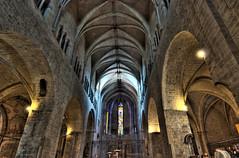 "Sant Feliu de Girona (jpferre2007) Tags: españa church spain nikon gothic iglesia catalonia girona catalunya 1224mm hdr cataluña gotico santfeliu d80 ""flickraward"""