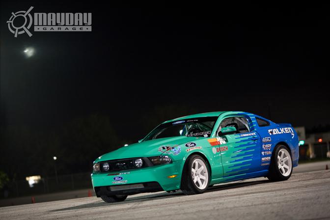 Vaughn Gittin jrs car sitting pretty. DP