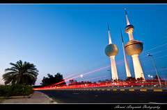 Kuwait Towers (Ahmad Alnejadah) Tags: club science kuwait ksc q8   supershot   ultimateshot kuwaitscienceclub  alnejadah nejadah