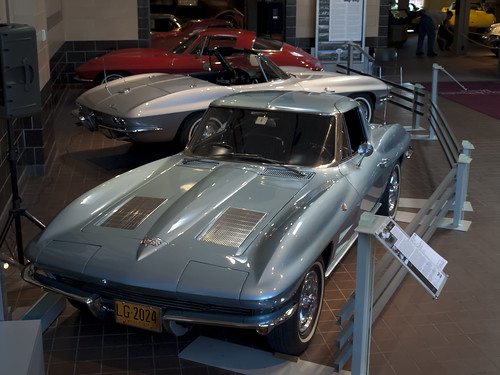 Corvette 1963 Stingray, 1964 Stingray Convertible y 1967 Stingray