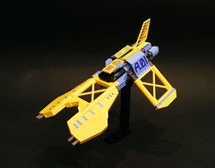 Angel Of Redemption [R.I.P. nnenn] (Cole Blaq) Tags: spaceship starfighter vicviper nnenn creationsforcharity2010