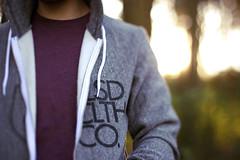 (Tim Riley | trileyphoto.com) Tags: man clothing purple gray tshirt company hoody zipper sunflare releasedclothing rclth rclthcom