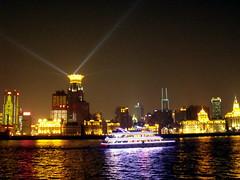 Shanghai the Bund at Night  2 (Daviaz12) Tags: china camera night buildings river asian lights asia european shanghai chinese fujifilm orient bund