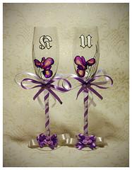 wedding glasses (AnkhaiStenn) Tags: wedding st groom glasses bride tallinn estonia sweet russia husband petersburg wife russian tender tenderness eesti goblet estonian