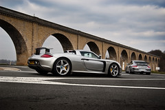 Carrera GT & GT3 mkII ([ JR ]) Tags: new 2 6 paris france grey gris nikon village flat mark jr exotic porsche gt g3 supercar vienne v10 rallye aqueduc carrera combo lisle coutry jourdain d40 vigeant fialeix