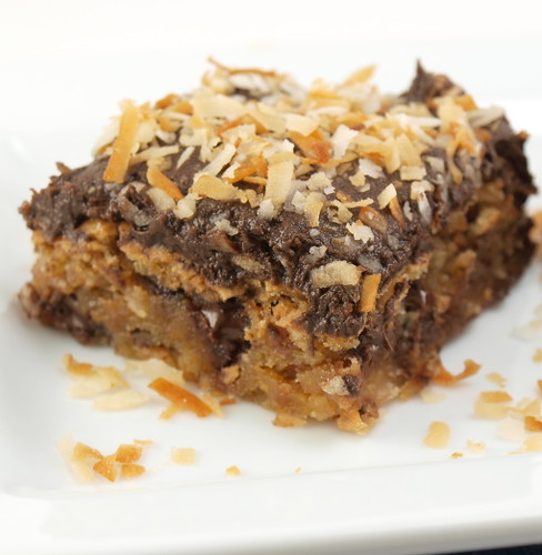 Toasted Coconut Blondies