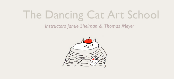 Introducing The Dancing Cat Art School!