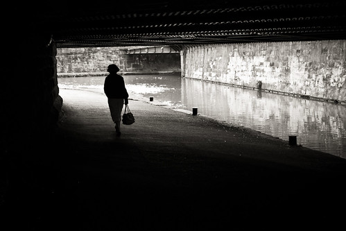 405/1000 - Walking home alone by Mark Carline