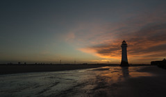 Dawn Breaks in New Brighton (g3az66) Tags: dawnbreaks newbrighton sunrise perchrock lighthouse