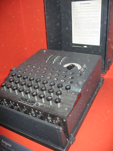 Enigma Machine (3 Rotor)