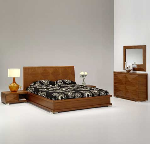 Marquis Contemporary Bedroom Set by Statements International