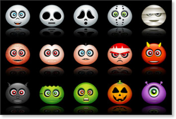 Halloween Avatars Icons
