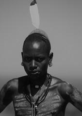 omo tribes - ethiopia - 08 (hors-saison) Tags: africa portrait face painting body head african south tribal tribes omovalley ethiopia tribe fc ethnic karo mursi tribo omo thiopien etiopia ethiopie etiopa tribus  etiopija ethnie ethiopi  etiopien etipia  etiyopya       valledelomo    spottingfreefr