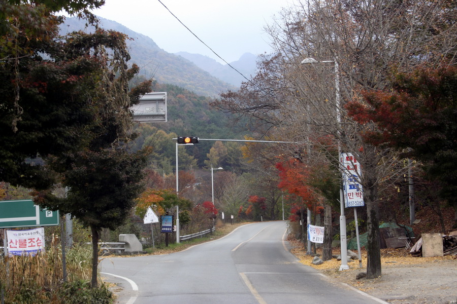 Approaching Gapsa Temple