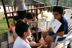 20091108_9707 (Yiwen103) Tags: 內灣 露營 尖石 卡丁車 櫻花谷 碰碰船 踏踏球