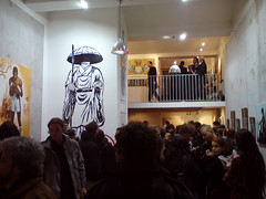 Ensemble (Tian (Chris a.k.a)) Tags: street urban streetart paris france art painting stencil paint contemporary tian exhibition spray peinture exposition aerosol bombe pochoir contemporain stencilhistoryx †ian itinerrance