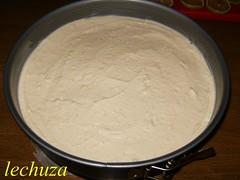 Tarta de queso y lima-extender crema