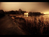 The dark autumn (Kaj Bjurman) Tags: park autumn dark eos sweden stockholm 5d hdr solna kaj mkii markii hagaparken cs4 photomatix bjurman
