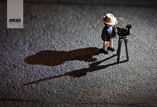 La sombra del fotógrafo es alargada ...