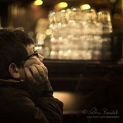 tolerant offspring (Ąиđч) Tags: portrait face glasses kid waiting child hand bokeh f14 candid profile bored mano ritratto occhiali attesa bicchieri bambino faccia profilo annoiato nikond90
