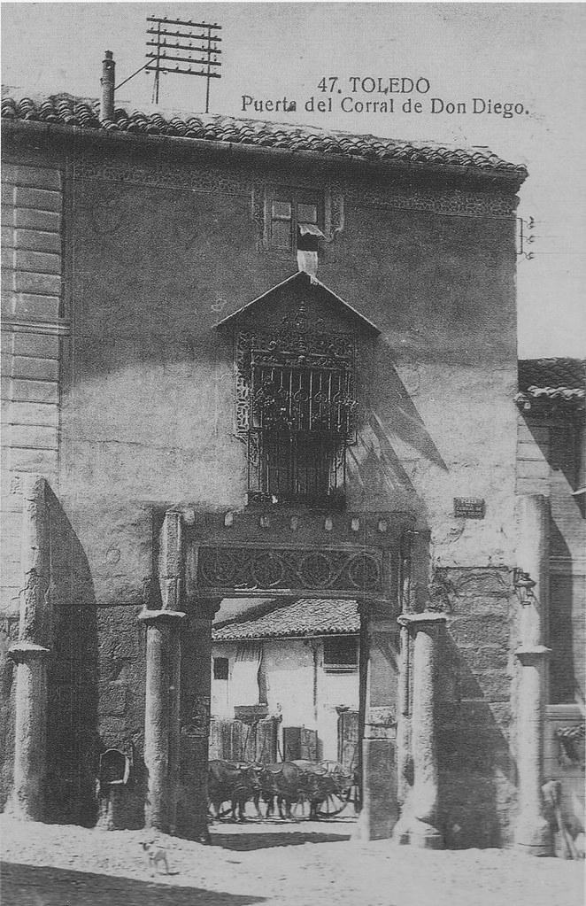 Corral de Don Diego a inicios del siglo XX. Foto Grafos