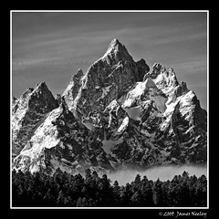 Rising Up (James Neeley) Tags: mountains square landscape wyoming grandteton grandtetonnationalpark gtnp mywinners jamesneeley