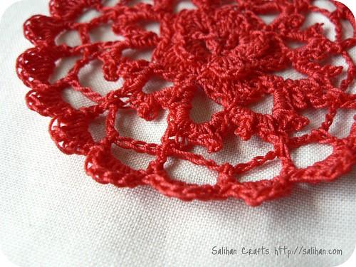Crochet Rose Petals