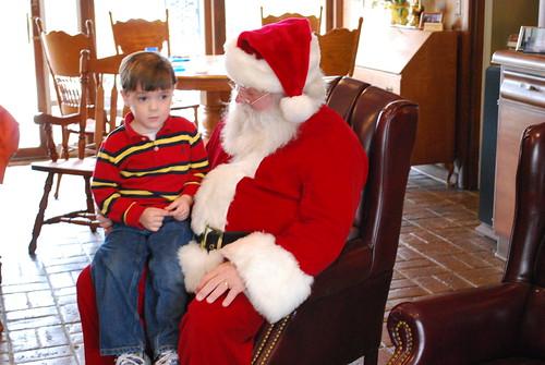 Ben and Santa (2)